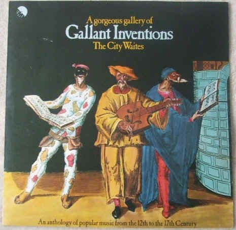 EMC 3017 The City Waites A GORGEOUS GALLERY OF GALLANT INVENTIONS Signed Cover