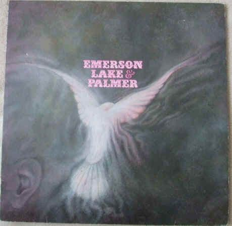 EMERSON LAKE AND PALMER Vinyl LP Debut