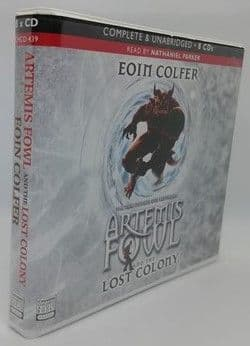 Eoin Colfer ARTEMIS FOWL AND THE LOST COLONY Audiobook