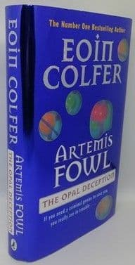 Eoin Colfer ARTEMIS FOWL THE OPAL DECEPTION Signed First Edition