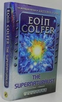 Eoin Colfer THE SUPERNATURALIST First Edition Signed