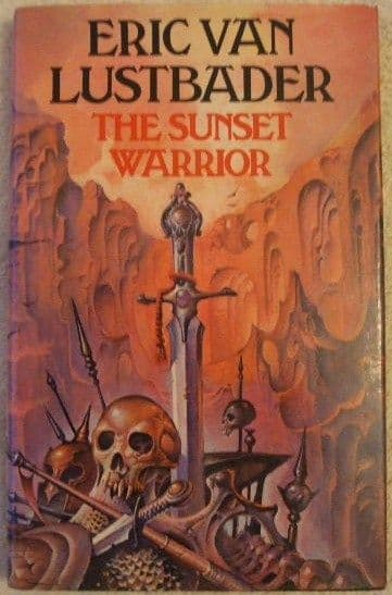 Eric Van Lustbader THE SUNSET WARRIOR First Edition