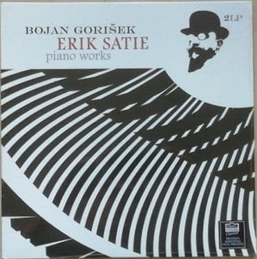 Erik Satie PIANO WORKS 180g 2LP Set Gorisek Sealed