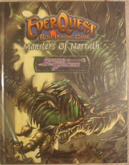 EVERQUEST MONSTERS OF NORRATH First Edition Hardback