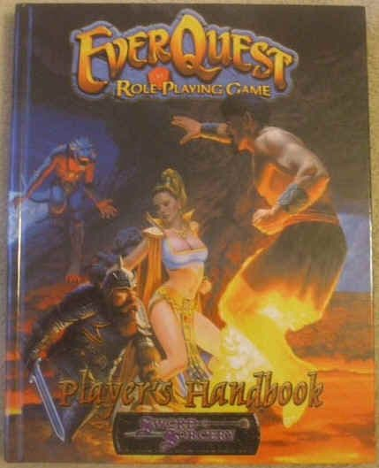 EVERQUEST PLAYER'S HANDBOOK First Edition Hardback