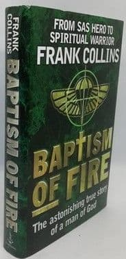 Frank Collins BAPTISM OF FIRE First Edition Signed