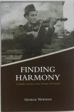 George Newman FINDING HARMONY First Edition