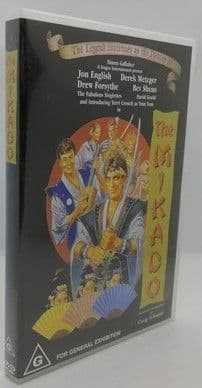 Gilbert & Sullivan THE MIKADO DVD Jon English
