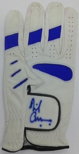 Golf Glove Signed by David Cameron