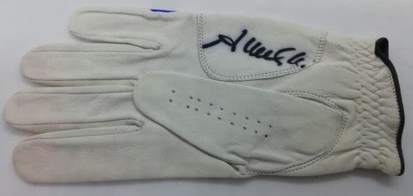 Golf Glove Signed by John Terry
