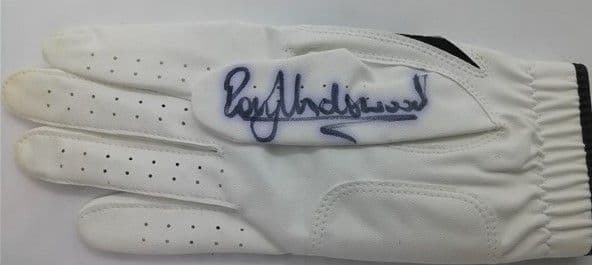 Golf Glove Signed by Rory Underwood