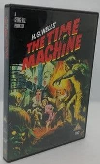 H G Wells THE TIME MACHINE DVD Rod Taylor