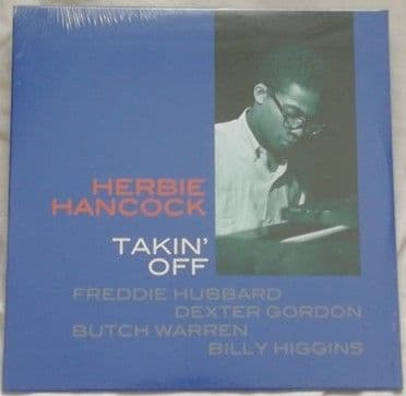 Herbie Hancock TAKIN' OFF 180g Vinyl LP Sealed