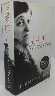 Hermione Lee EDITH WHARTON Signed Hardback