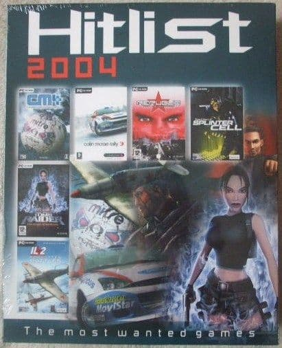 HITLIST 2004 Most Wanted Games PC Sealed