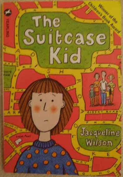 Jacqueline Wilson THE SUITCASE KID Paperback
