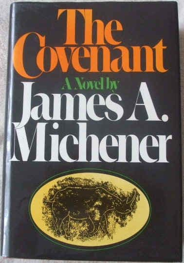 James A Michener THE COVENANT First Edition