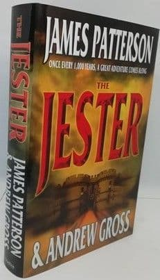 James Patterson Andrew Gross THE JESTER Signed hardback