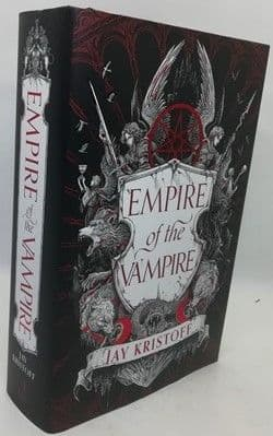 Jay Kristoff EMPIRE OF THE VAMPIRE First Edition Signed