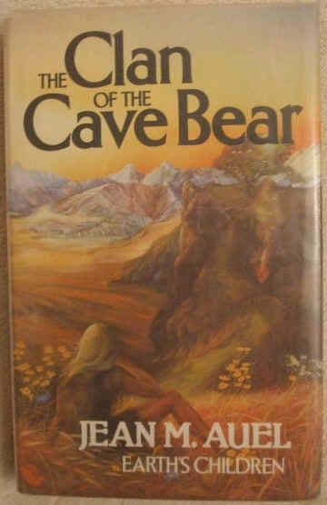 Jean M Auel THE CLAN OF THE CAVE BEAR First Edition BCA