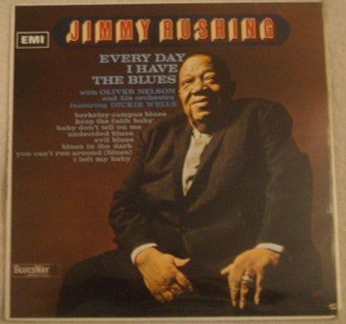 Jimmy Rushing EVERY DAY I HAVE THE BLUES Vinyl LP