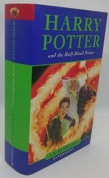 JK Rowling HARRY POTTER AND THE HALF-BLOOD PRINCE First Edition Page 99 Misprint