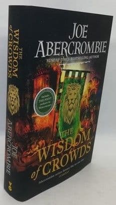 Joe Abercrombie THE WISDOM OF CROWDS First Edition Signed