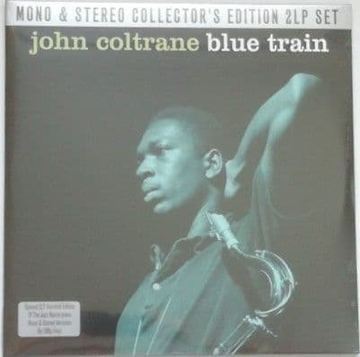 John Coltrane BLUE TRAIN 180g Double Vinyl LP Mono Stereo Sealed