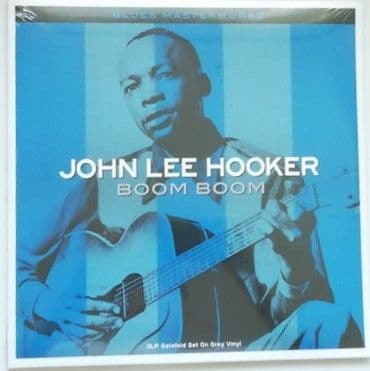 John Lee Hooker BOOM BOOM Triple Vinyl LP Sealed