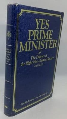 Jonathan Lynn Antony Jay YES PRIME MINISTER First Edition Double Signed