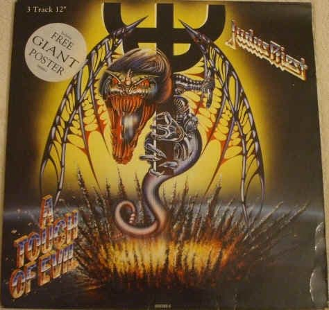 Judas Priest A TOUCH OF EVIL 12 Inch Single