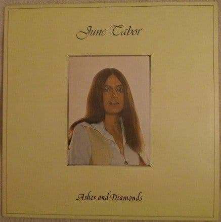 June Tabor ASHES AND DIAMONDS Vinyl LP