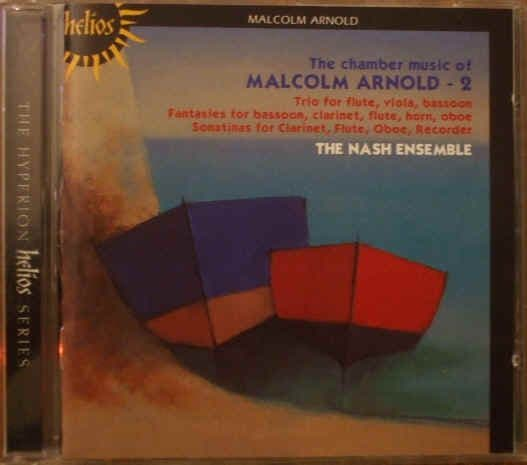 Malcolm Arnold CHAMBER MUSIC Hyperion CD Nash Ensemble