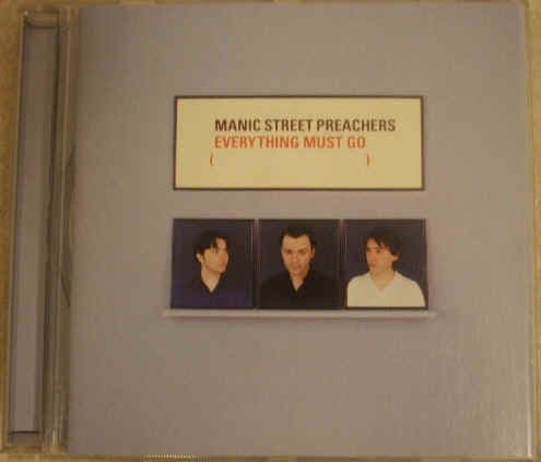 Manic Street Preachers EVERYTHING MUST GO CD