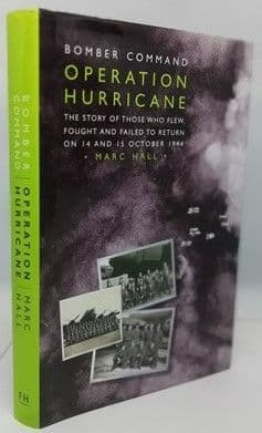 Marc Hall OPERATION HURRICANE First Edition Multi Signed