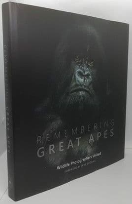 Margot Raggett REMEMBERING GREAT APES First Edition Multi Signed