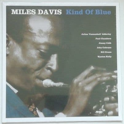 Miles Davis KIND OF BLUE 180g Blue Vinyl Sealed