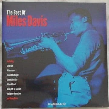 Miles Davis THE BEST OF MILES DAVIS 3LP Red Vinyl Sealed