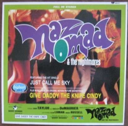 Naz Nomad and The Nightmares GIVE DADDY THE KNIFE CINDY Vinyl LP 1984 OST