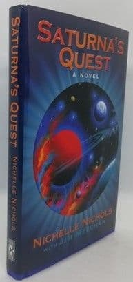 Nichelle Nichols SATURNA'S QUEST First Edition Signed