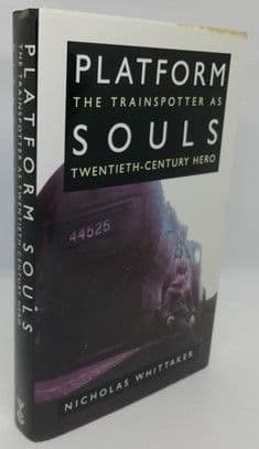 Nicholas Whittaker PLATFORM SOULS First Edition Signed Plate