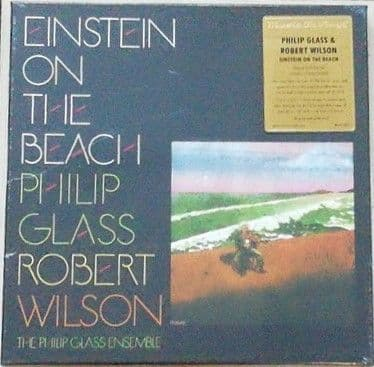 Philip Glass Robert Wilson EINSTEIN ON THE BEACH Deluxe 4LP Box Set Sealed