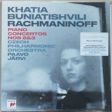 Rachmaninoff PIANO CONCERTO NO.2 AND NO.3 180g Double LP Khatia Buniatishvili Sealed