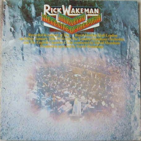 Rick Wakeman JOURNEY TO THE CENTRE OF THE EARTH Vinyl LP