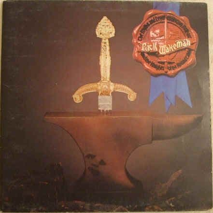 Rick Wakeman THE MYTHS AND LEGENDS OF KING ARTHUR AND THE KNIGHTS OF THE ROUND TABLE Vinyl LP