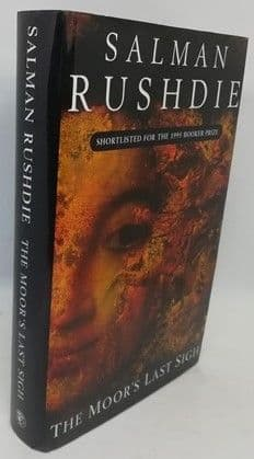 Salman Rushdie THE MOOR'S LAST SIGH First Edition Signed
