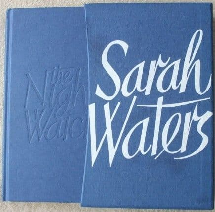 Sarah Waters THE NIGHT WATCH Signed Limited Edition