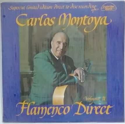 Sealed 6005 Carlos Montoya FLAMENCO DIRECT VOLUME II Vinyl LP