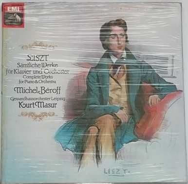 Sealed SLS 5207 Liszt COMPLETE WORKS FOR PIANO AND ORCHESTRA Box Set Beroff Mansur