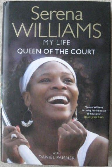 Serena Williams QUEEN OF THE COURT Signed Hardback